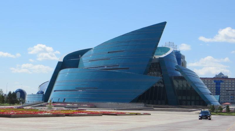 Astana, sala dei concerti Kazakstan Ortalyk