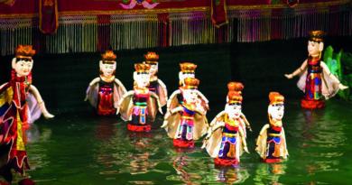 marionette sull'acqua