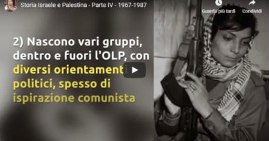 Video storia palestinese