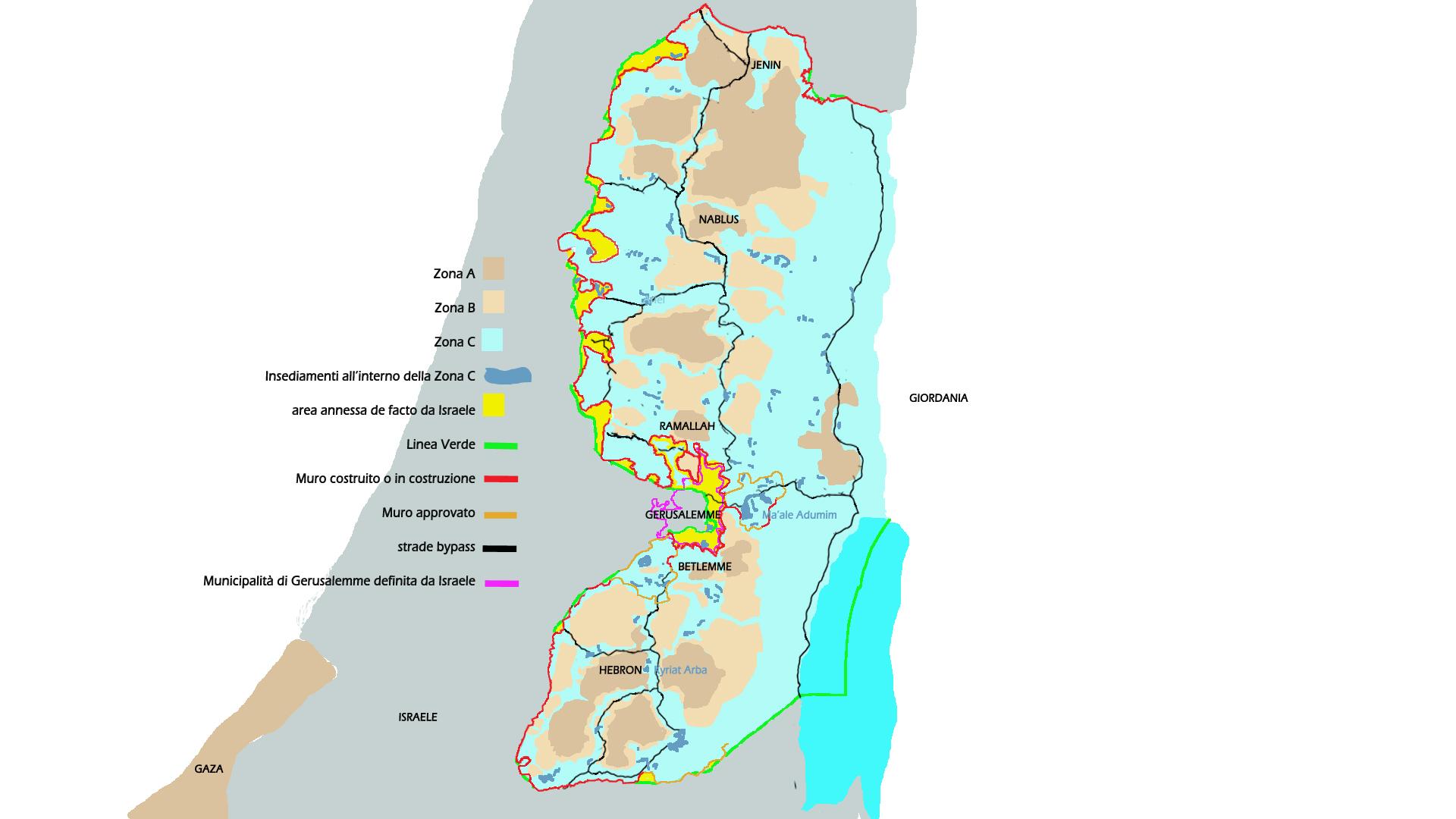 Israele Palestina Cartina.Israele E Palestina Informazioni Pratiche Di Viaggio Patrizia Fabbri