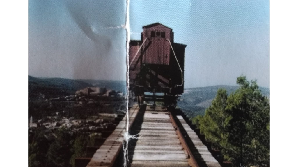 Yad Vashem - Il Vagone sospeso nel vuoto